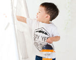 Say Yes to Adventure Baby Toddler T-Shirt from Milk & Bones