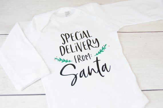 Delivery from Santa Top and Reindeer Leggings Outfit