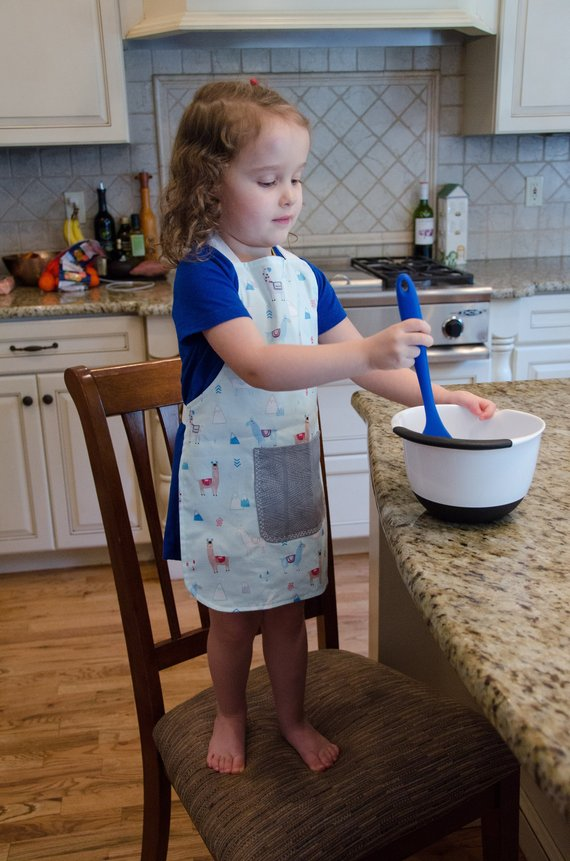 Llama Play Apron for Toddlers and Children