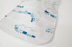 Trains Baby Bib - Grey Baby Bib - Blue Baby Bib - Baby Boy Clothes - Baby Boy Bib - Toddler Bib - Baby Boy Gift - Baby Shower Gift  Handmade