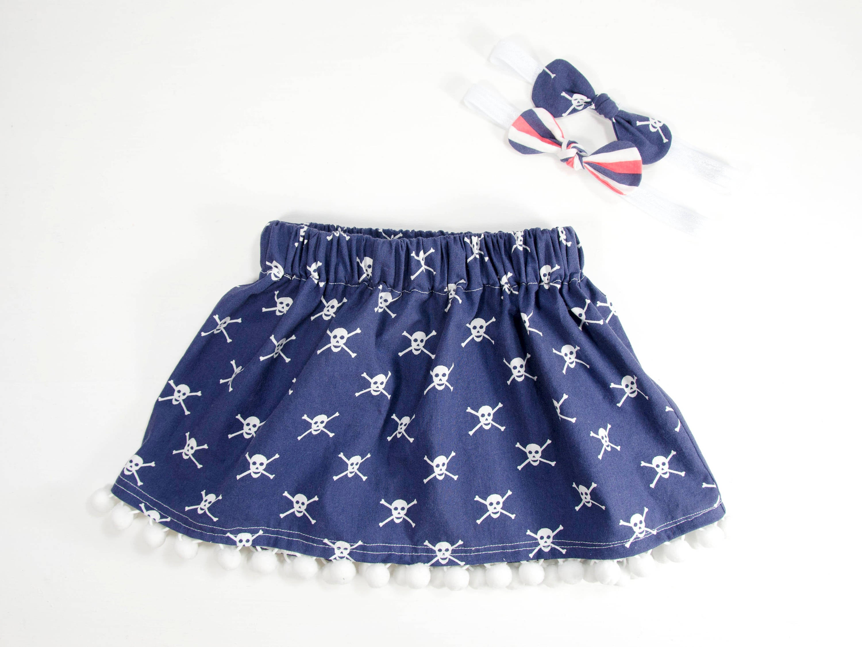 Toddler Girl Skirt - Baby Girl Skirt - Toddler Girl Clothes - Baby Head Bow - Baby Head wrap - Head wrap - Girls Clothes  Baby Clothes