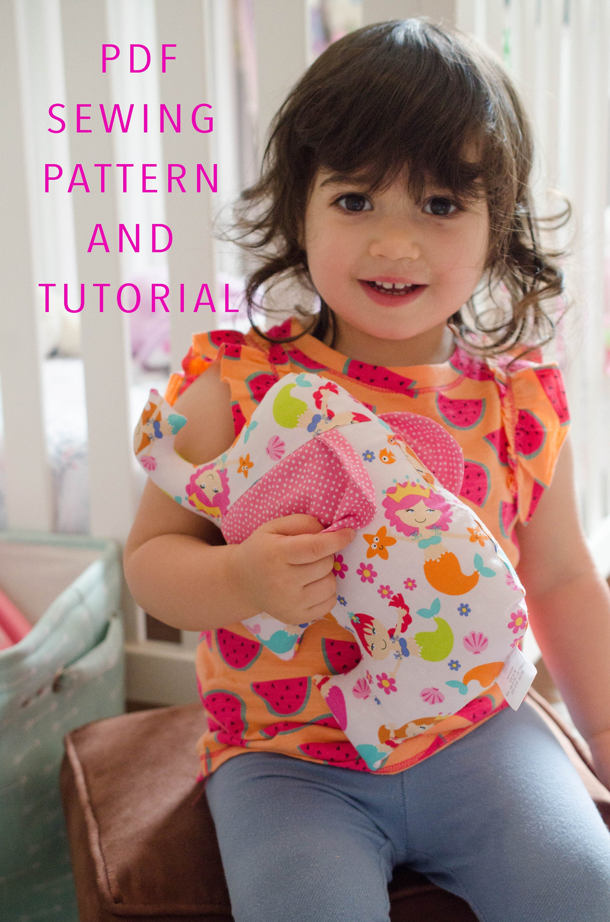 Elephant PDF Sewing Pattern Instant Download
