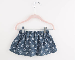 Toddler Skirt - Baby Skirt - Handmade Skirt  Woodland Animals - Toddler Girl Clothes - Girl Clothes - Baby Girl Clothes - Winter Baby Outfit