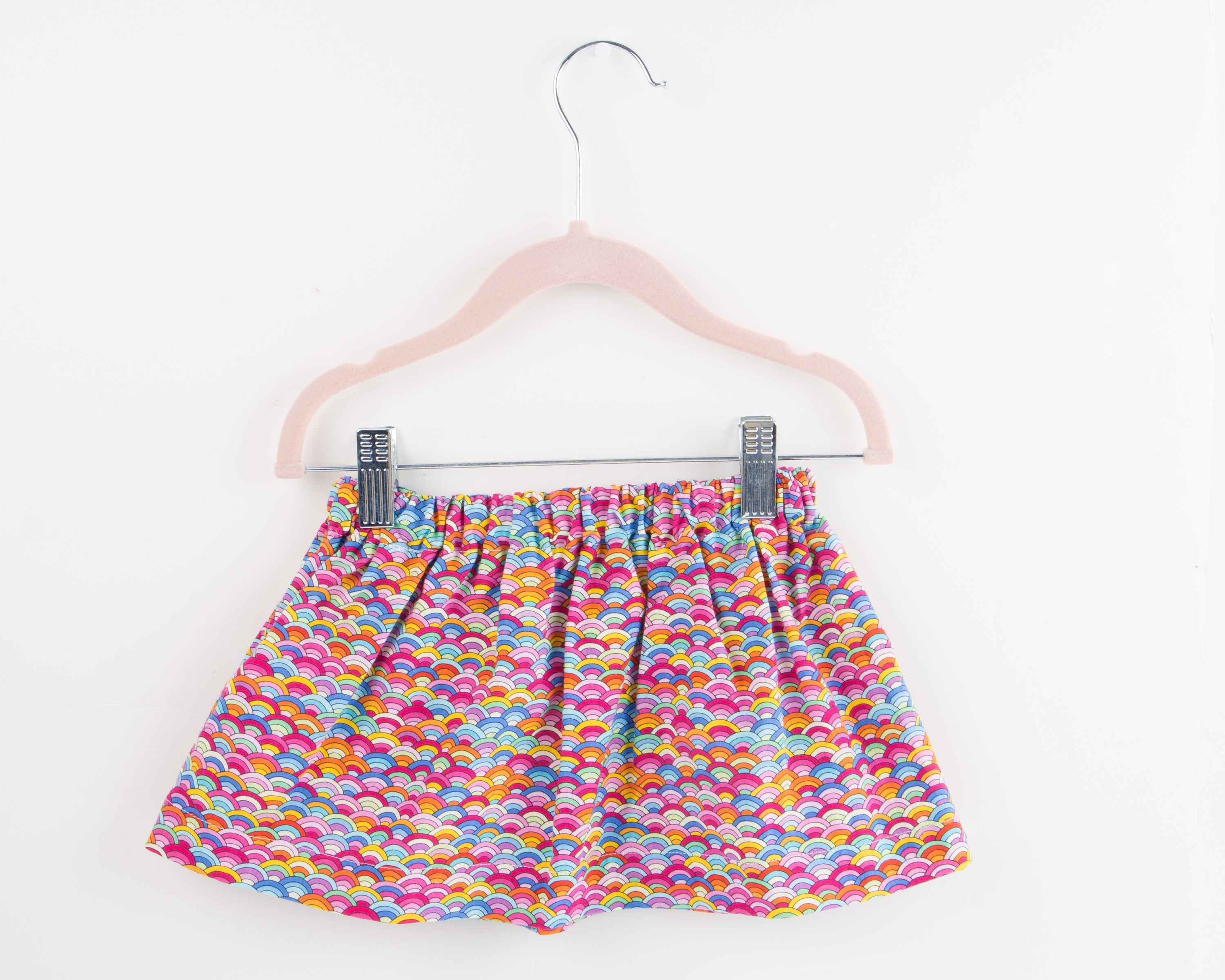 Toddler Skirt - Ready to Ship - Toddler Skirt Handmade - Baby Skirt - Toddler Girl Skirt - Rainbow Skirt - Toddler Girl Clothes - Baby Girl