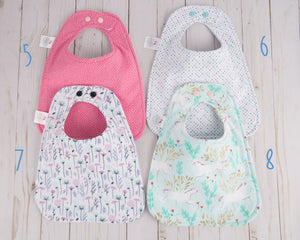 Minty Unicorn Collection Baby Bibs