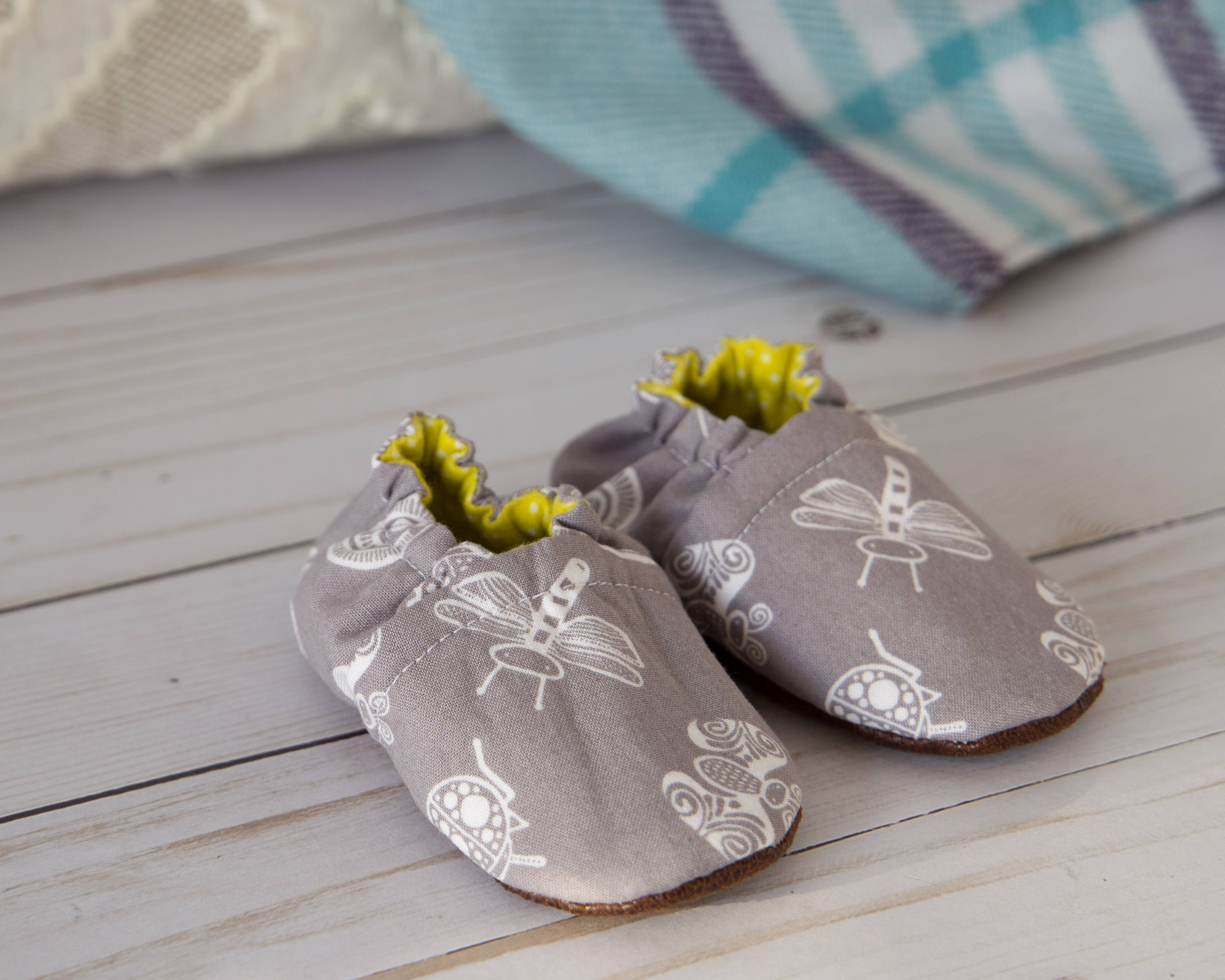 Baby Shoes PDF Sewing Pattern