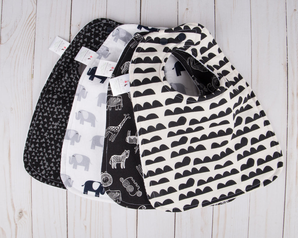 Safari Baby Bib Collection