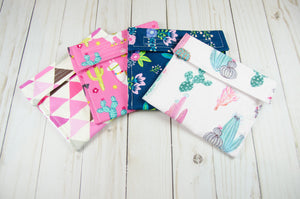Llama Collection Reusable Snack Bags