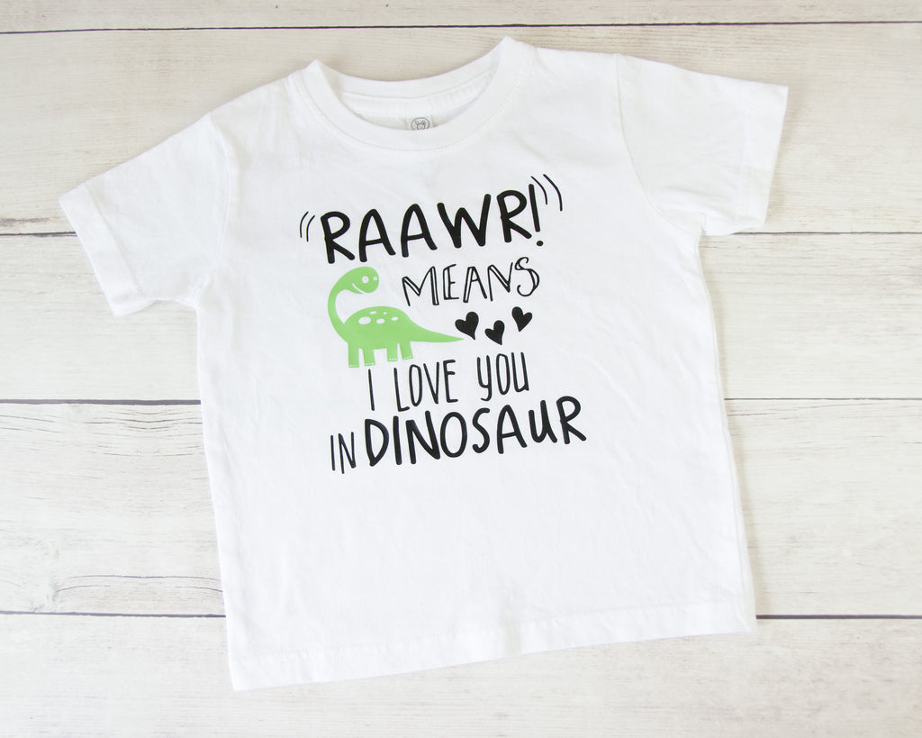 Dinosaur Baby Toddler T-Shirt