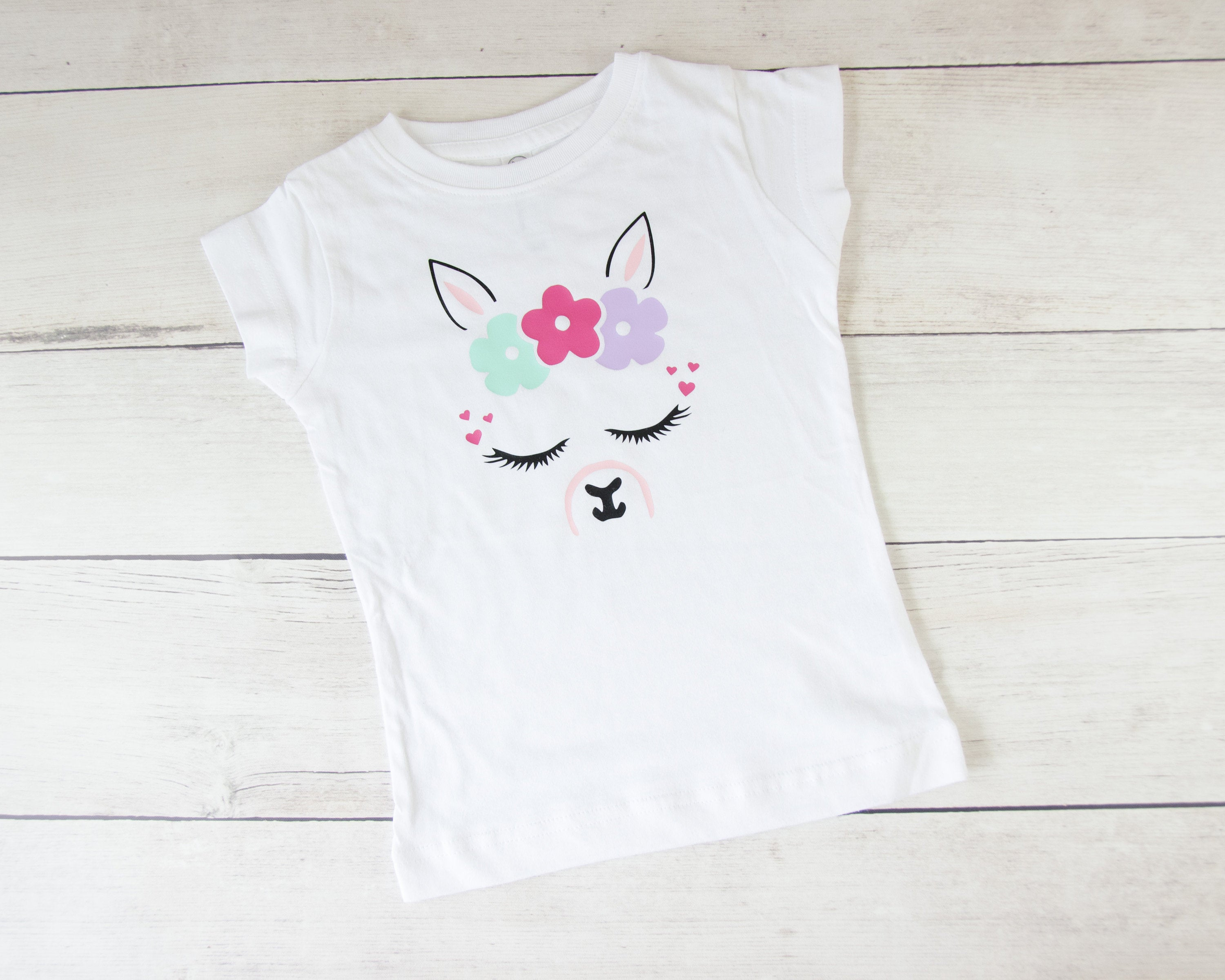 Fitted Llama Toddler T-Shirt