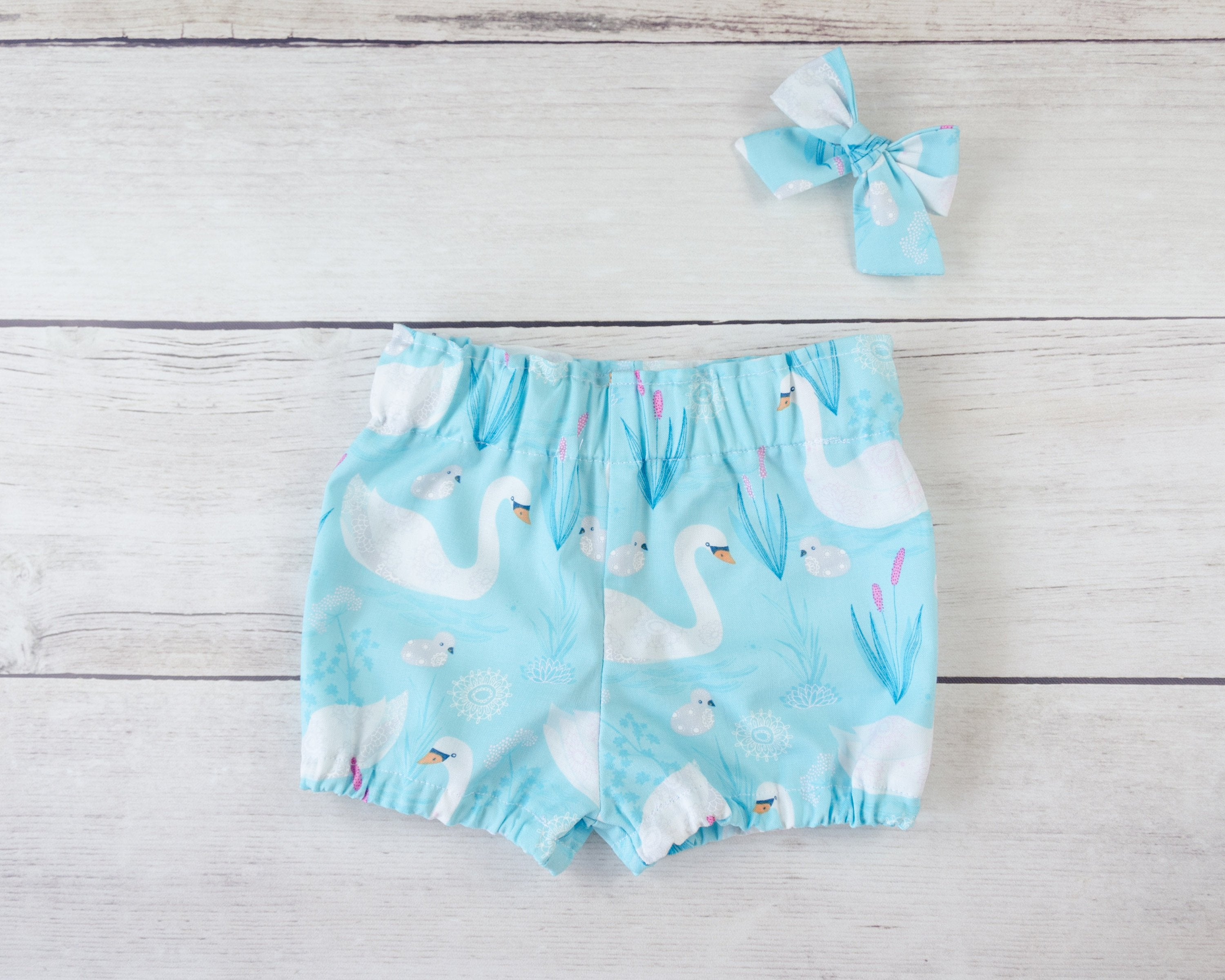 Swan Baby Toddler Bloomers, Skirt or Pants