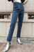 Vintage High-waisted Straight Jeans