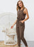 Casual Long Sleeveless Jumpsuit