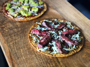 Pesto Flank & Sun-Dried Tomato Flatbread