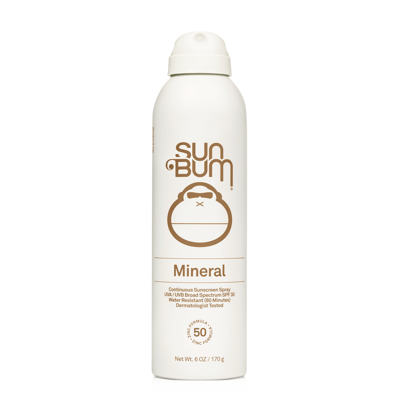 SUN BUM MINERAL SPF 30 SUNSCREEN SPRAY