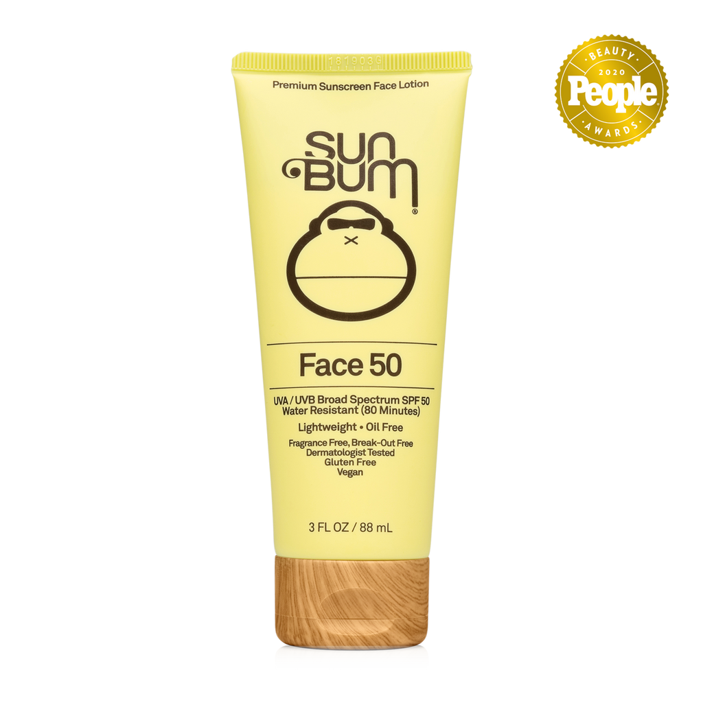 SUN BUM ORIGINAL 'FACE 50' SPF 50 SUNSCREEN FACE LOTION