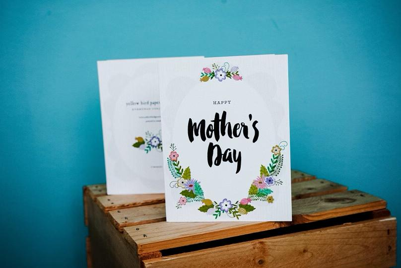 Yellow Bird Greetings - Mother's Day Card
