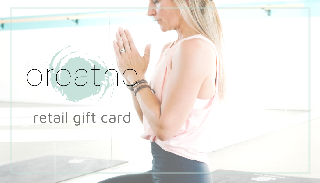 BREATHE GIFT CARD