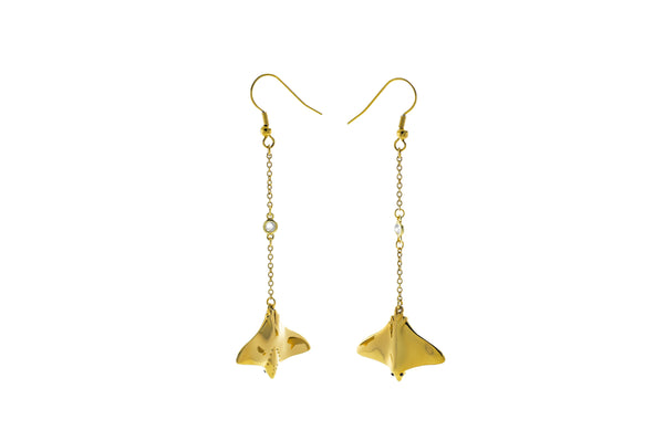 Mini Stingray Earrings