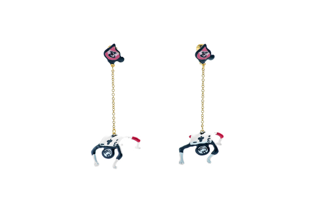 Poker Soldier Earrings