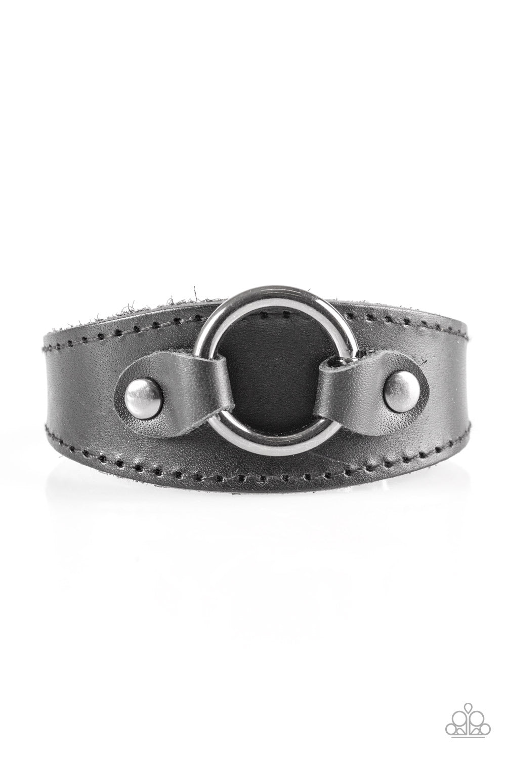 Western WRANGLER - Black Paparazzi Accessories Bracelet