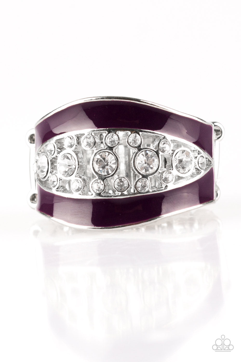 Trending Treasure - Purple Paparazzi Jewelry Ring