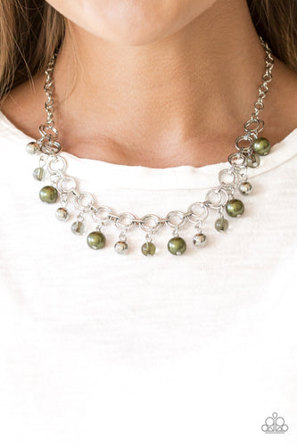 Fiercely Fancy - Green Paparazzi Jewelry Necklace