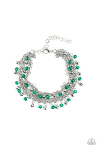 Cash Confidence - Green Paparazzi Jewelry Bracelet