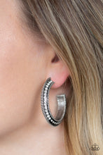 Load image into Gallery viewer, Retro Reverberation - White Paparazzi Jewelry Earrings