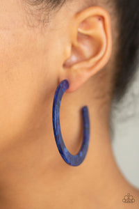HAUTE Tamale - Blue Paparazzi Jewelry Earrings