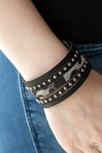 Load image into Gallery viewer, Born To Be Wildcat - Silver Paparazzi Jewelry Bracelet