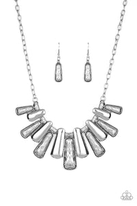 MANE Up - Silver Paparazzi Jewelry Necklace