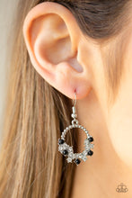 Load image into Gallery viewer, Refined Razzle - Black Paparazzi Jewelry Earrings