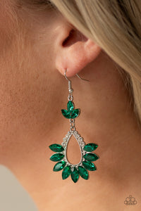 Extra Exquisite - Green Paparazzi Jewelry Earrings