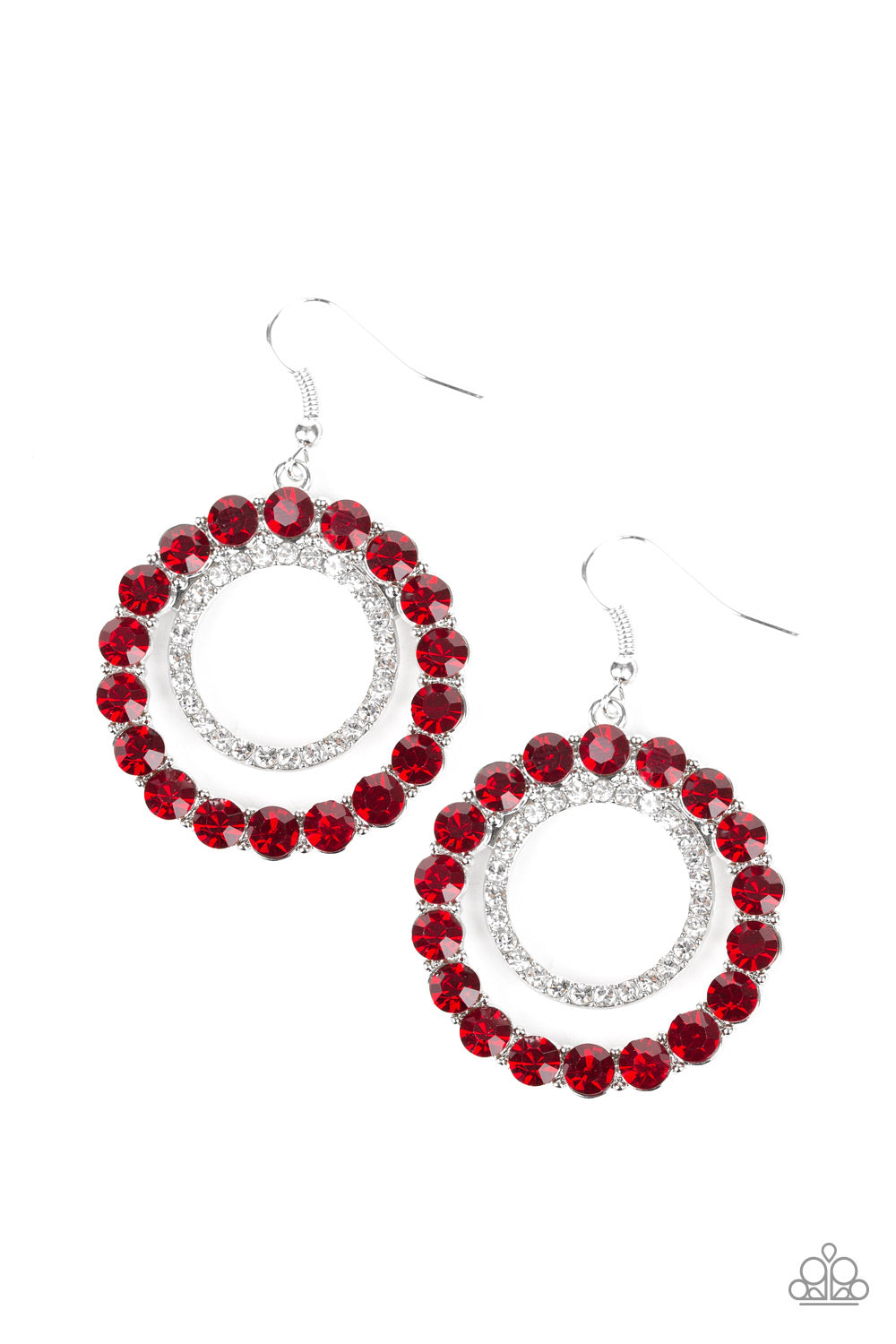 Spotlight Shout Out - Red Paparazzi Jewelry Earrings