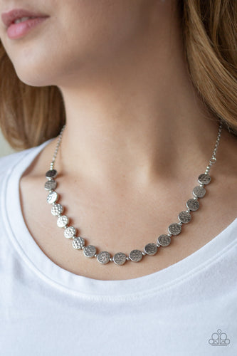 Artisinal Affluence - Silver Paparazzi Jewelry Necklace