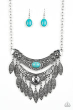 Load image into Gallery viewer, Island Queen - Blue Paparazzi Jewelry Necklace