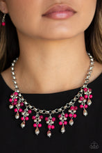 Load image into Gallery viewer, Traveling Trendsetter - Pink Paparazzi Jewelry Necklace