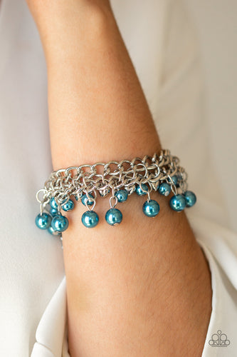 Duchess Diva - Blue Paparazzi Jewelry Bracelet