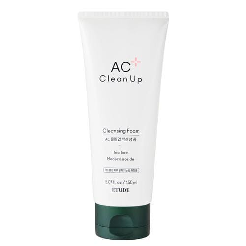 ((2020 NEW)) ETUDE HOUSE AC Clean Up Cleansing Foam- Tea Tree  (150ml) - Lifecode Boutique