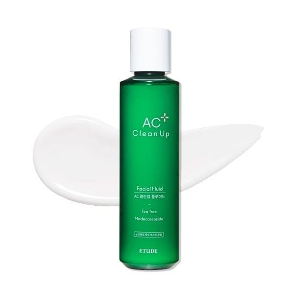 ((2020 NEW)) ETUDE HOUSE AC Clean Up Facial Fluid (180ml) - Lifecode Boutique