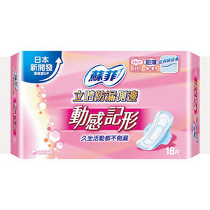 UNICHARM SOFY Sanitary Pads Daily Cleaning Dynamic Thin Wing 23 cm
