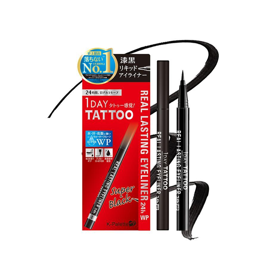 K-PALETTE 1 DAY TATTOO Real lasting Eyeliner