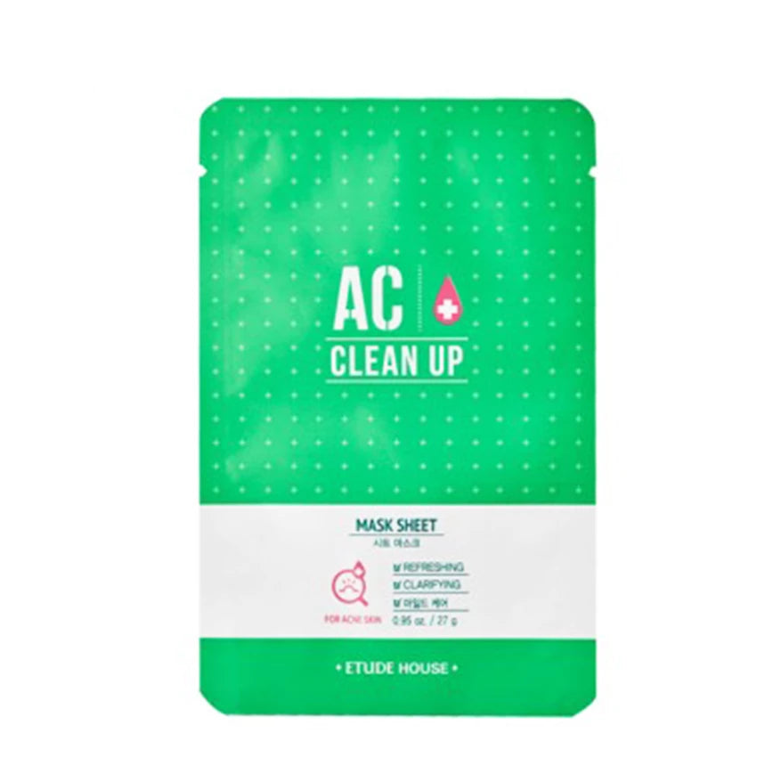 ETUDE HOUSE AC Clean Up Mask Sheet (27g) - Lifecode Boutique