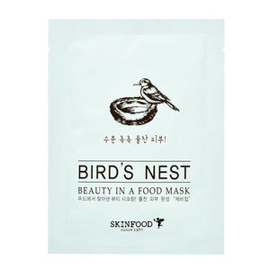 SKINFOOD - Beauty in a Food Mask Sheet 1pc-BIRD'S NEST - Lifecode Boutique