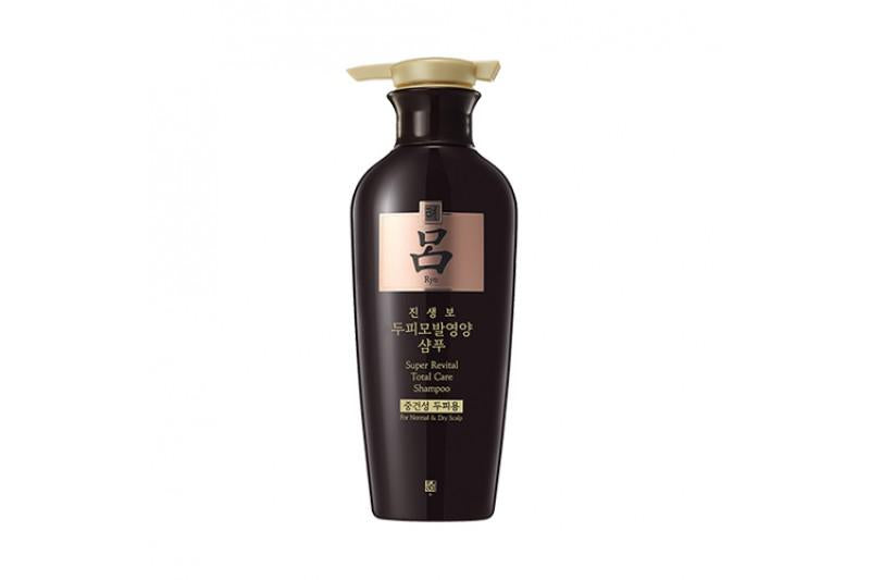 RYO Super Revital Total Care - For Normal & Dry Scalp Shampoo/Conditioner - Black - 400g - Lifecode Boutique