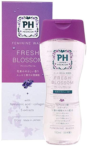 (2020 NEW) PH JAPAN Premium Feminine Wash- Fresh Blossom  (150ml)