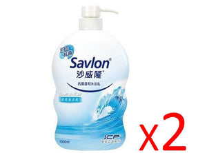 (($ 19.99 EVENT))  Two of SAVLON Cleansing Body Soap- Ocean (1000ml)