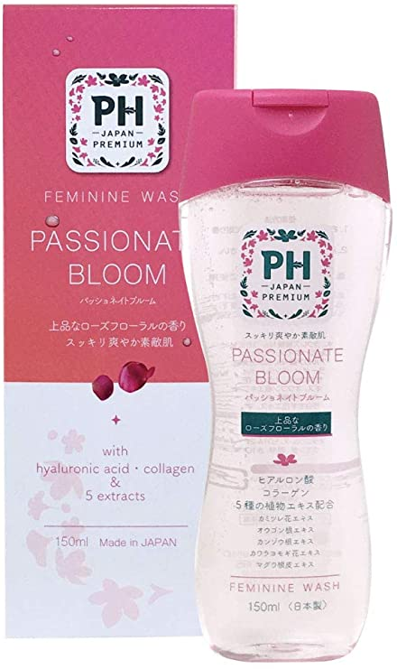 (2020 NEW) PH JAPAN Premium Feminine Wash- Passionate Bloom (150ml)