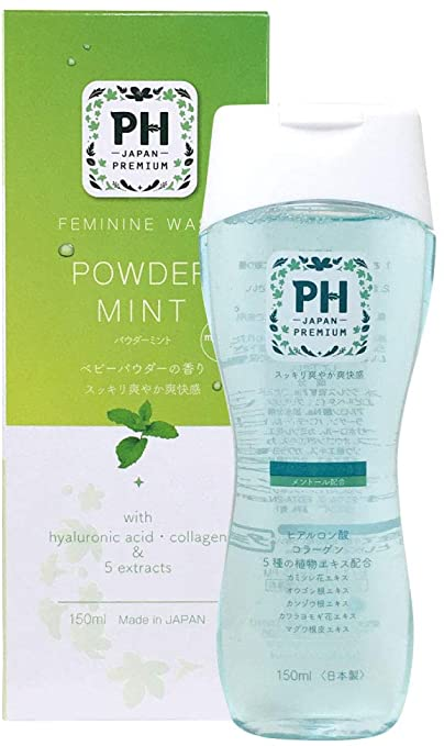 (2020 NEW) PH JAPAN Premium Feminine Wash- Powder Mint (150ml)